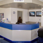 Inside our Main Office and Security Screens